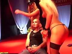 extreme lesbian porn on public stage