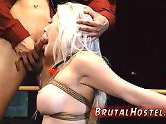 Extreme giantess Big-breasted platinum-blonde bombshell Cris
