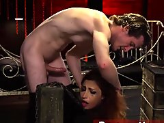 Full tape bondage Poor lil'_ Jade Jantzen, she just wanted to have a